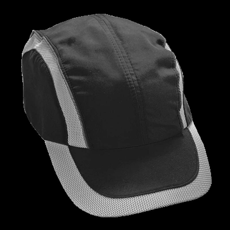 Cotton Bump Cap (Black)