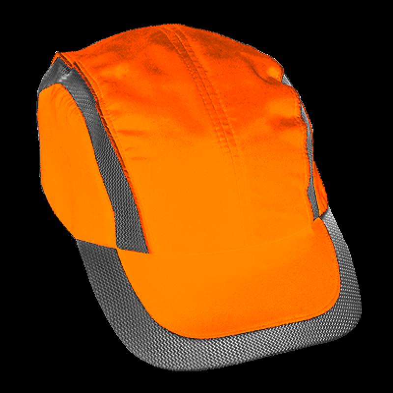 Cotton Bump Cap (Orange)