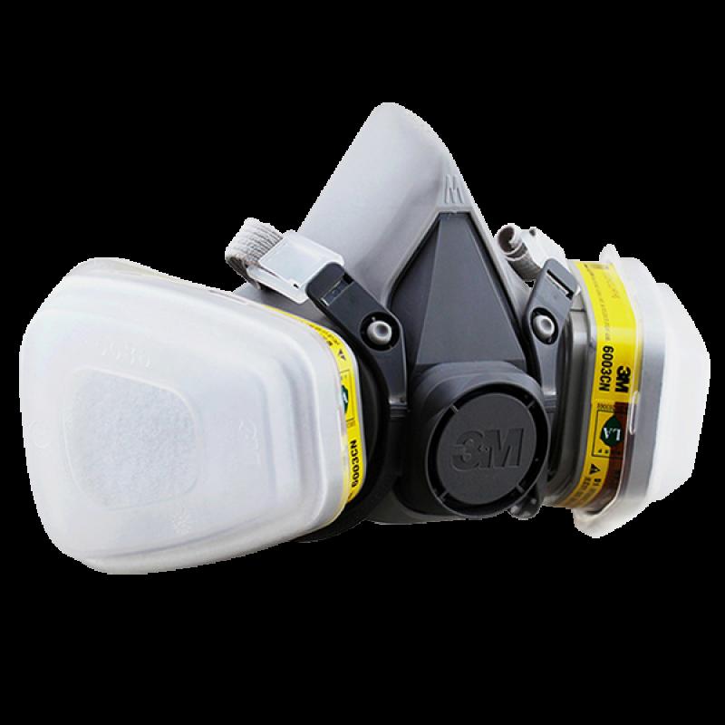 3M Double Cartridge Half Facepiece Respirator