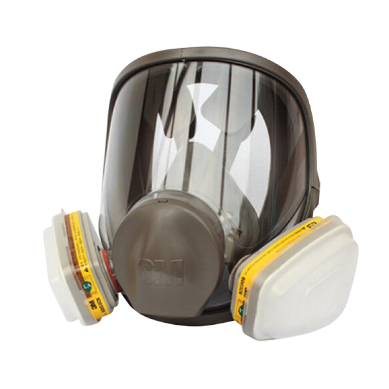 3M Double Cartridge Full Facepiece Respirator