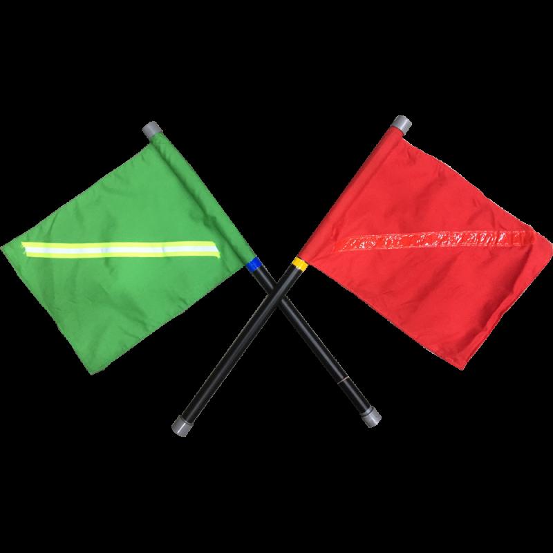 Traffic Flag (for Flagman) Green