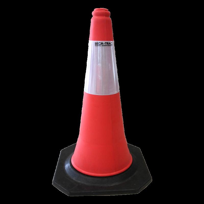 PE Traffic Cone (Rubber Base)