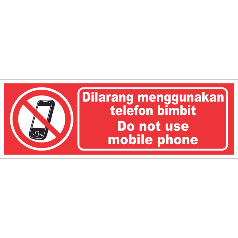 Do not use mobile phone