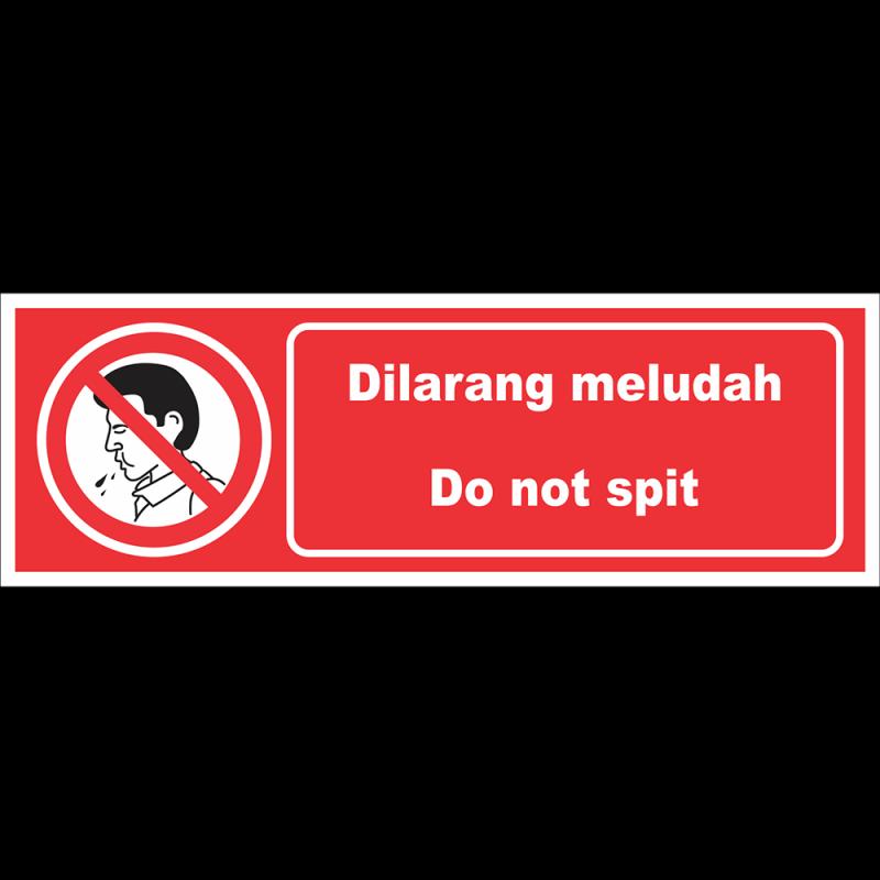 Do not spit