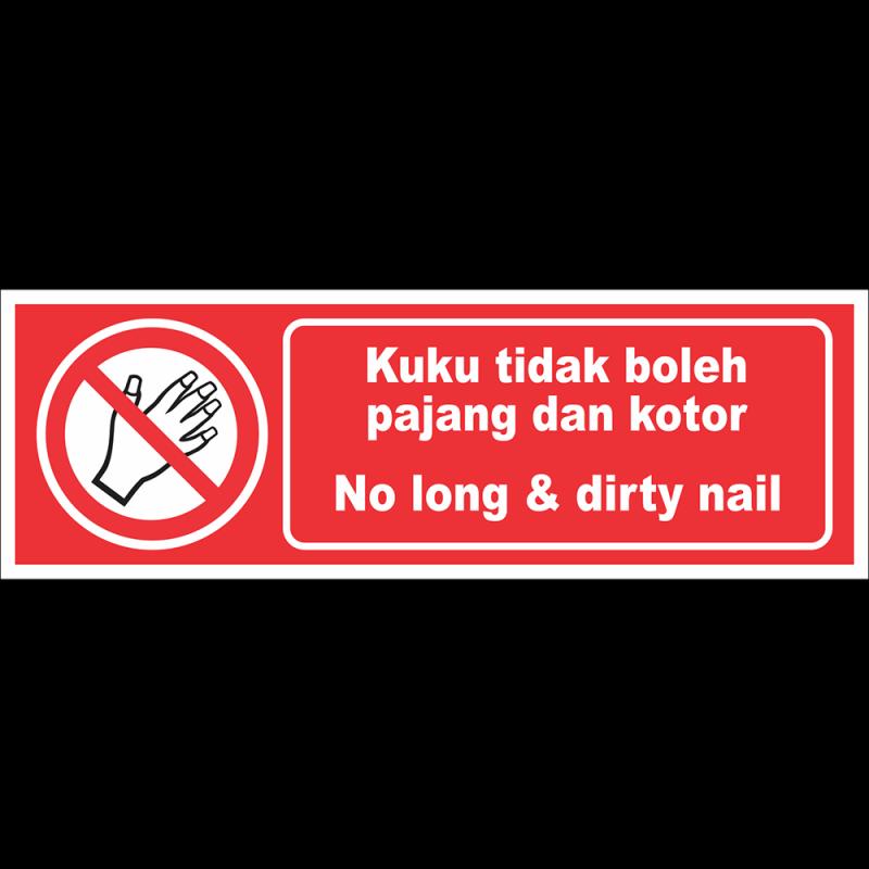 No long & dirty nail