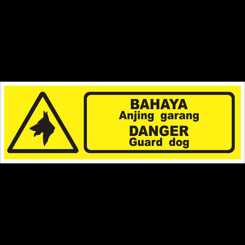 DANGER Guard dog