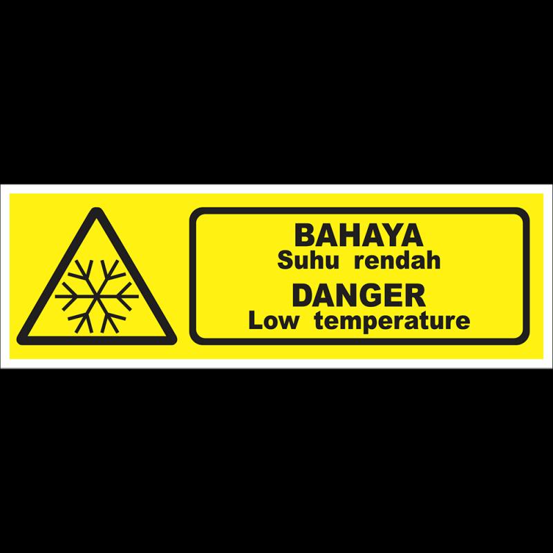 DANGER Low temperature