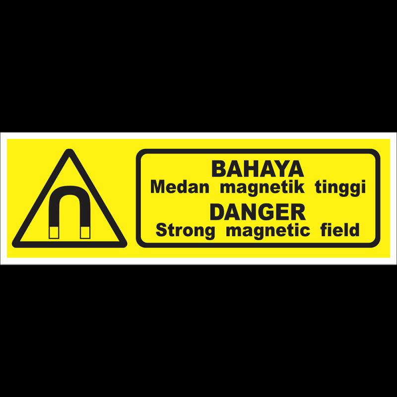 DANGER Strong magnetic field