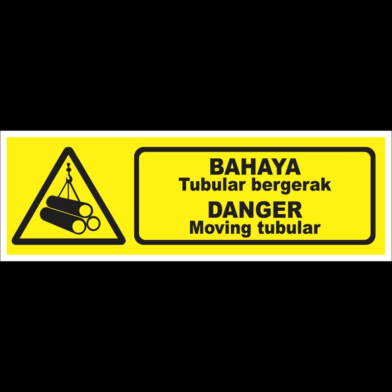 DANGER Moving tubuler