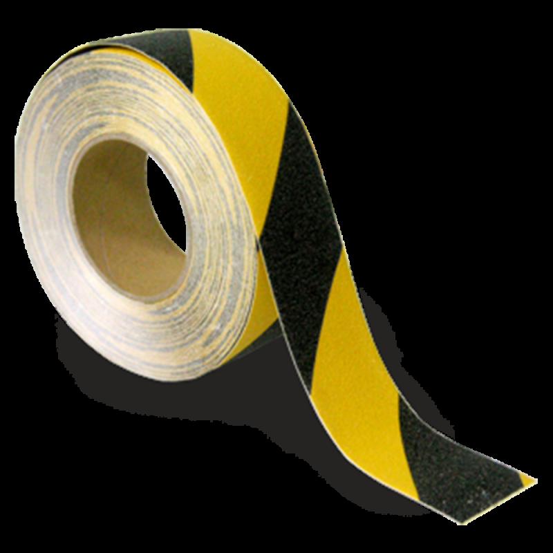 "Yellow/Black (2"" x 6m)"