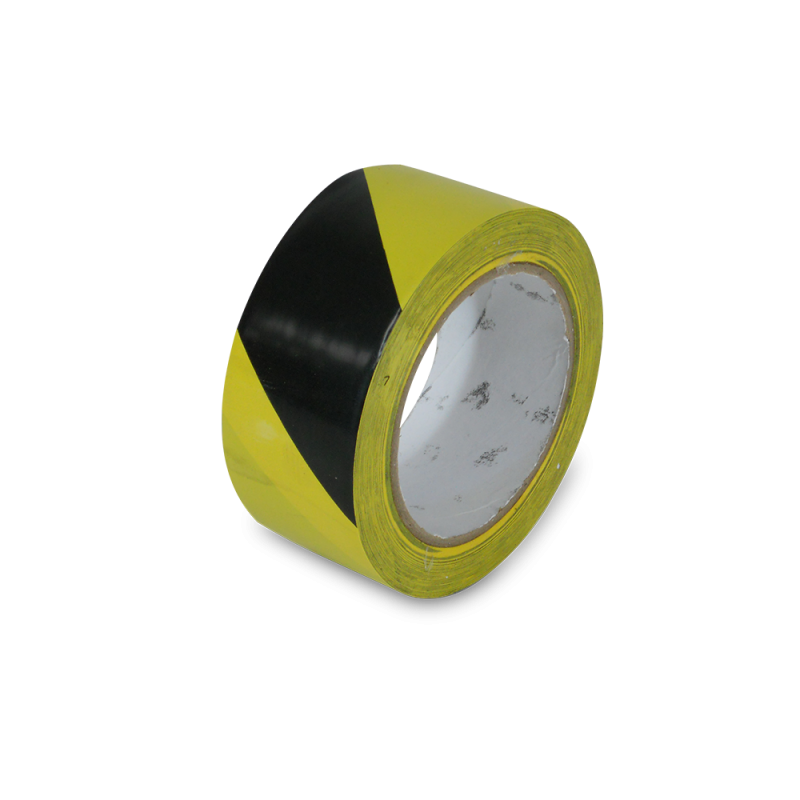 Safety Floor Tapes (Yellow Black Stripe)