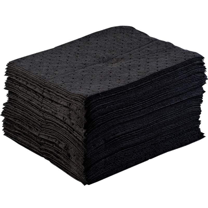 Sorbent Pad (Universal/Chemical, 100pcs/carton)