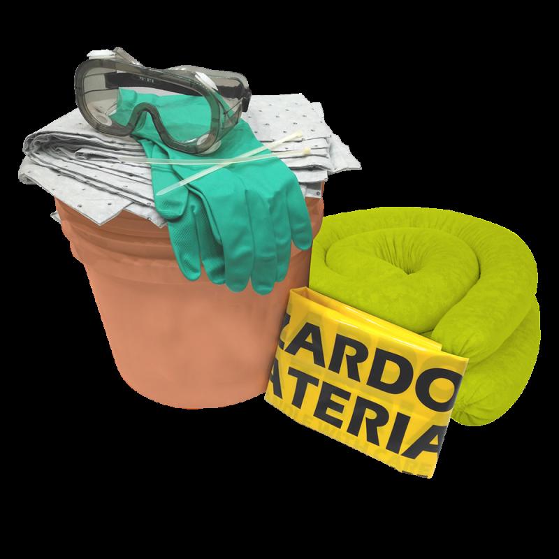 Portable Spill Response Kit - Chemical (18 Liters)