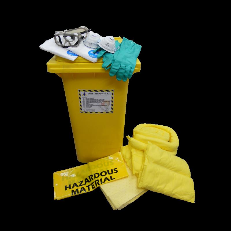 Dispenser Cart Spill Kit - Chemical (240 Liters)