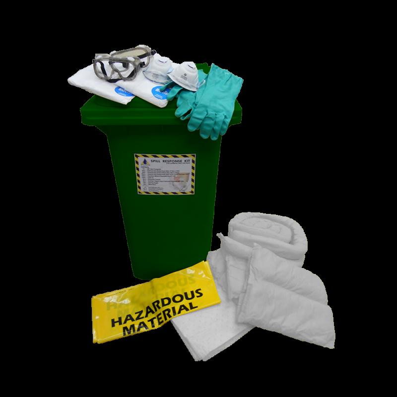 Dispenser Cart Spill Kit - Oil (240 Liters)