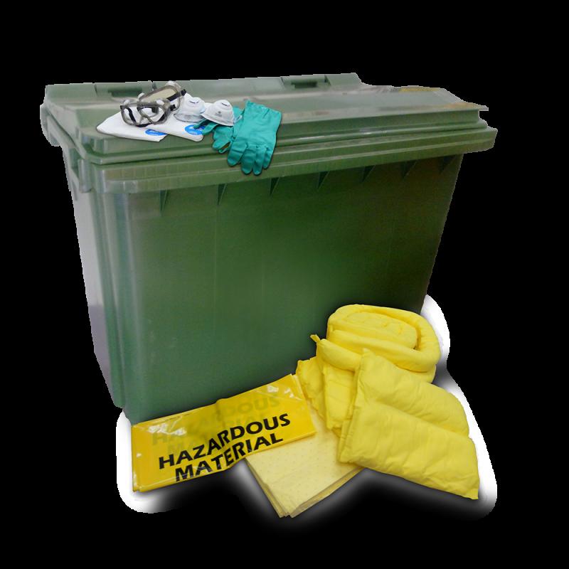 Dispenser Cart Spill Kit - Chemical (660 Liters)