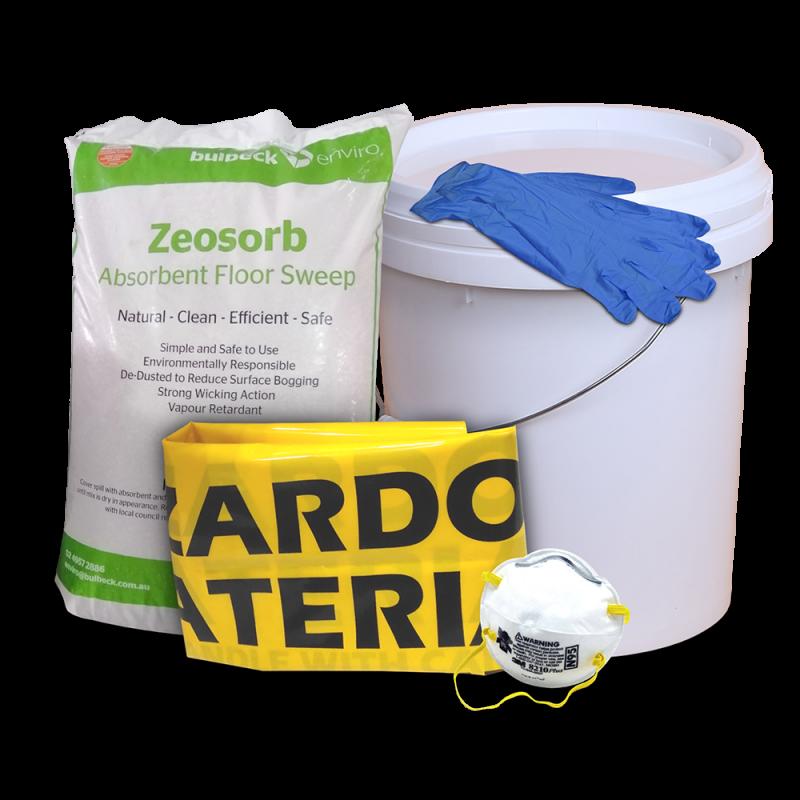 Spillcon Absorbent Floor Sweep Kit - Oil (18 liter...